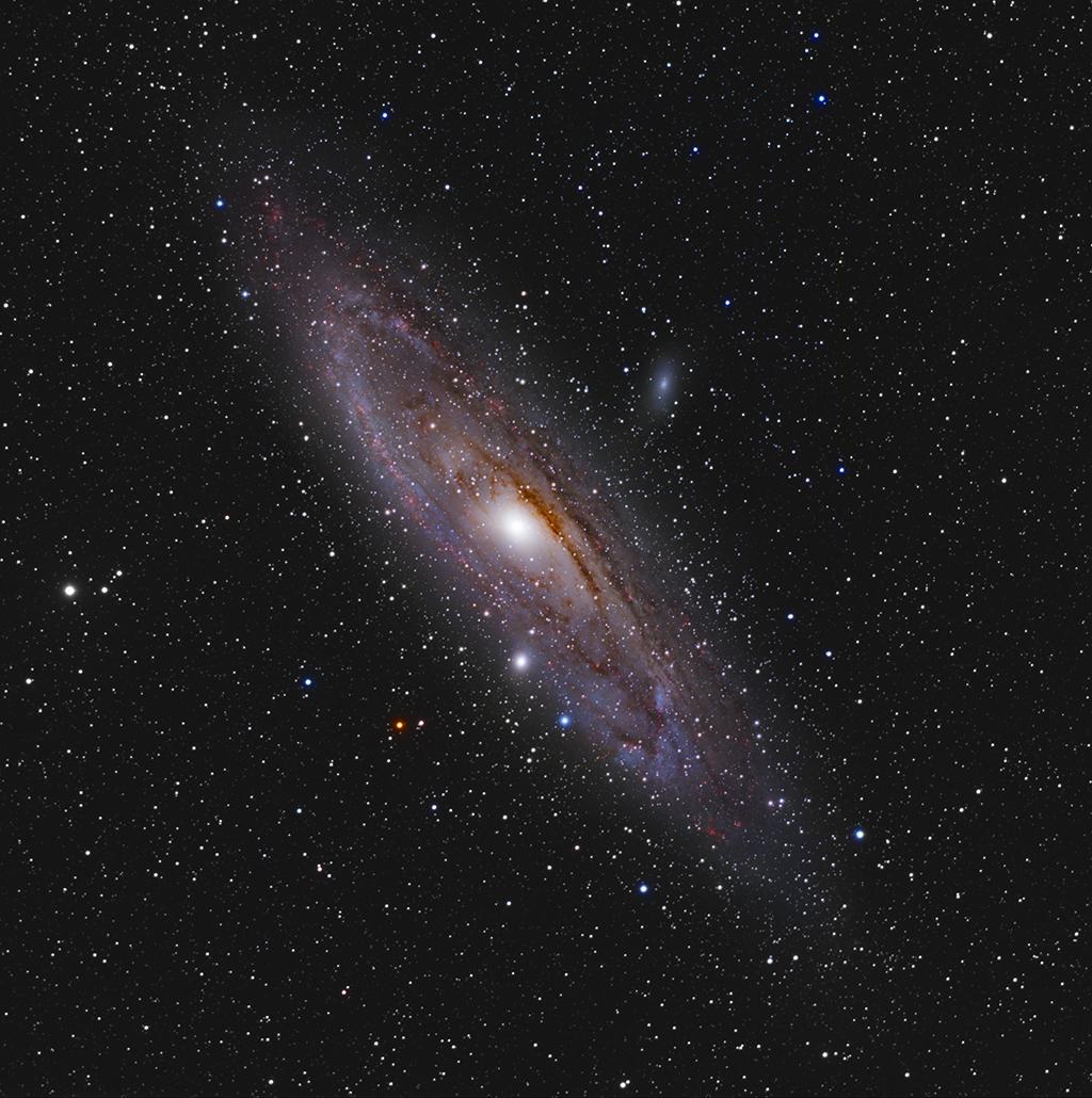 M31 -La galaxie d'Andromède en HaLRVB M31_HaLRVB_reduit2